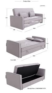 Portable Sofa Cum Bed by Modern Design Multifunction Sofa Cum Bed Mechanism Eucalyptus