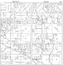plat maps historic maps of sherman township clark co wi