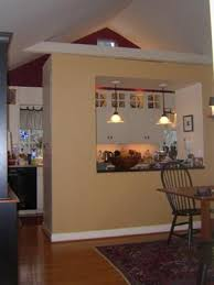 Kitchen And Dining Room Colors Accent Walls In Open Kitchen And Dining Room
