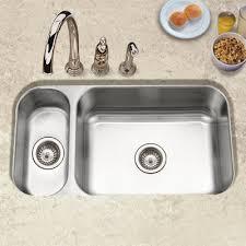 undermount double kitchen sink ukinox 26 25 x 20 5 double bowl undermount kitchen sink reviews