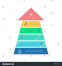 arrow infographic arrow pyramid chart diagram stock vector arrow infographic arrow pyramid chart diagram scheme graph with 6 steps