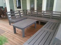 Build Wooden Patio Table by Create An Outdoor Corner Bench Unit Free Plans And Tutorial