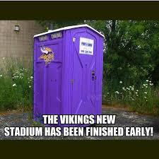 Vikings Suck Meme - the vikings new stadium is finished vikings suck sports