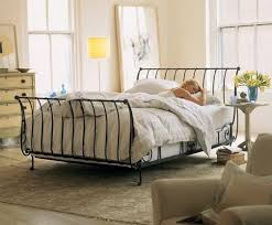 Metal Sleigh Bed 9 Best Iron Sleigh Bed Images On Pinterest Wrought Iron