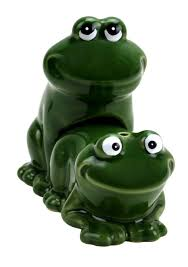 big mouth toys froggy style salt and pepper shakers