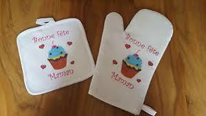 cuisine de fete gant et manique de cuisine bonne fete maman cadeau fete des meres