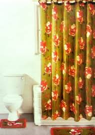 Bathroom Sets Shower Curtain Rugs Bathroom Sets With Shower Curtain And Rugs With Purple Brown Blue