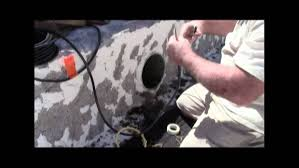 swimming pool light fittings wiring a pool light the easy way 35 youtube