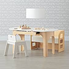 Kids Wooden Desk Chairs Kids Play Tables U0026 Activity Tables The Land Of Nod