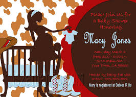 mis 2 manos made by my western baby shower invites cowboy