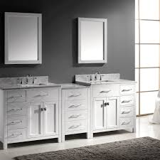 Virtu Bathroom Accessories by Virtu Usa Caroline Parkway 93 Double Bathroom Vanity Set In White