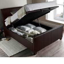 Leather Ottoman Bed Super King Size Ottoman Beds