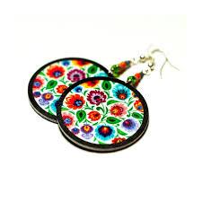 decoupage earrings 9 best decoupage jewelry images on decoupage wood