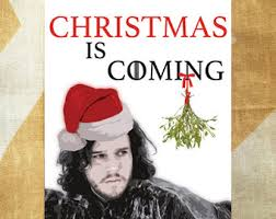 Christmas Is Coming Meme - multipack game of thrones christmas card you know nothing