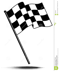 Checker Flag Black And White Checkered Flag Clipart Clipart Collection Free