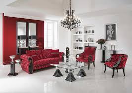 Red Livingroom Home Design Living Room Wallpaper Ideas Red White Black