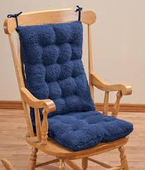 Comfortable Rockers Amazon Com Walterdrake Sherpa Rocking Chair Cushion Set By