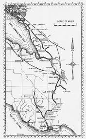 Union Pacific Route Map by Santa Cruz Trains Railroads Of The Monterey Bay Maps U0026 Charts