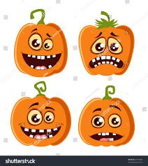 vector halloween pumpkin set stock vector 84185929 shutterstock