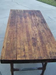 Best  Butcher Block Tables Ideas On Pinterest Butcher Block - Butcher block kitchen tables and chairs