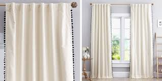 Where To Buy White Curtains Belgian Flax Linen Curtain White West Elm Curtains Blackout Quincy