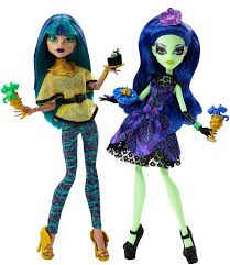 monster high scream and sugar doll nefera de nile and amanita