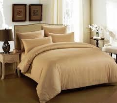 Cannon Bedding Sets Cannon King Size Cotton Stripe Pattern Beige Bedding Sets