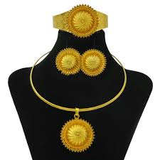 cheap gold necklace images Buy new gifts women strong gold jewelry set jpg
