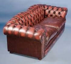 Leather Chesterfield Armchair Leather Chesterfield Sofas Foter
