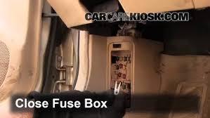 interior fuse box location 1999 2003 mazda protege 2000 mazda
