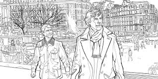 Sherlock The Mind Palace The Official Colouring Book Amazon Co Colouring Book