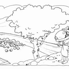 jesus the good shepherd coloring pages lost sheep coloring pages the parable of the lost sheep coloring