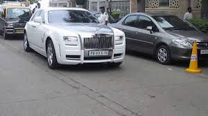 roll royce royles rolls royce ghost in mumbai youtube