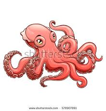 octopus cartoon stock images royalty free images u0026 vectors