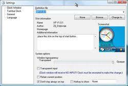 horloge sur le bureau windows 7 télécharger clock une horloge de bureau analogique