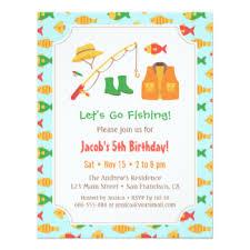fish theme invitations u0026 announcements zazzle