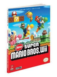 super mario bros wii prima official game guide fernando