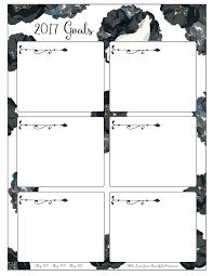 Categorizing Worksheets Pretty U0026 Fierce Free 2017 Goal Setting Worksheets Beautifularrow