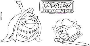 angry birds star wars coloring pages gekimoe u2022 24257