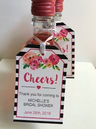 wine bottle favors bridal shower favor tags for mini wine bottles wine bottle tags