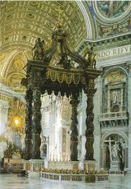 baldacchino by bernini baldachin by bernini in rome baldachin of st in vatican rome