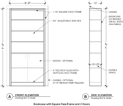 Bookcase Plans With Doors Bookcase With Doors Search Residential Design