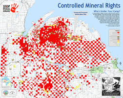 Map Of Upper Peninsula Michigan by Maps Mining Action Group