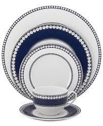 mikasa dinnerware bone china 5 pc akoya cobalt place setting