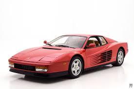 ferrari testarossa 1989 ferrari testarossa coupe hyman ltd classic cars