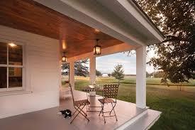 porch lighting ideas porch rustic with patio lights wraparound