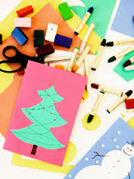 simple christmas card ideas for kids christmas lights decoration