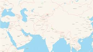 Kyrgyzstan Map Need For Low Tech Solutions To Treat U Contaminated Water Earth