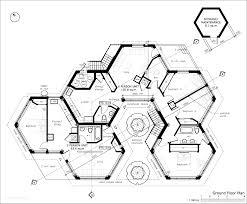 Retirement Floor Plans Elevation House Plans Design Ideas On Hexagon Noticeable Home With