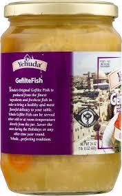yehuda gefilte fish yehuda original gefilte fish 24 oz walmart
